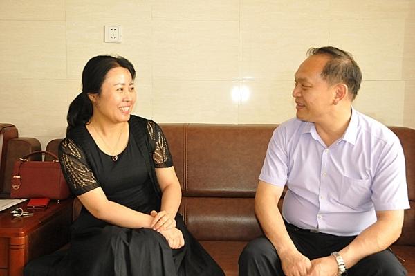 天津市市场营销协会会长周新刚亲切接待民生银行天津分行代表来访_发展